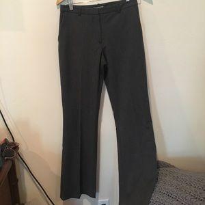 H&M grey bootcut slacks